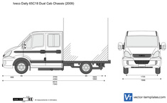 Iveco Daily 65C18 Dual Cab Chassis