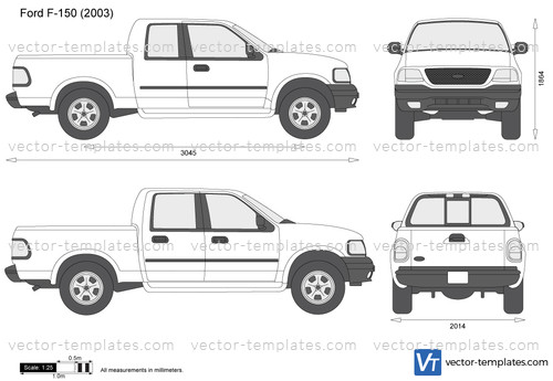 Templates - Cars - Ford - Ford F-150