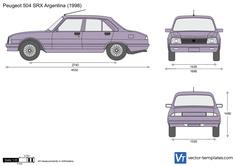Peugeot 504 SRX Argentina