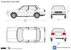 Toyota AE82 Corolla