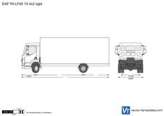 DAF FA LF45 10t 4x2 rigid