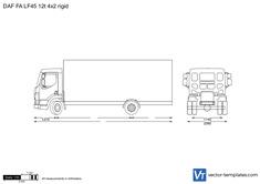 DAF FA LF45 12t 4x2 rigid