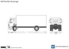 DAF FA LF55 18t 4x2 rigid