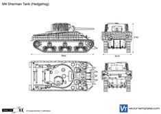 M4 Sherman Tank (Hedgehog) v2