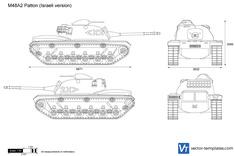 M48A2 Patton (Israeli version)