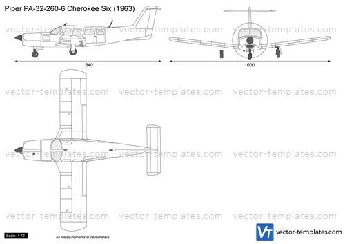 Piper PA-32-260-6 Cherokee Six