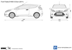 Ford Fiesta S1600 3-Door