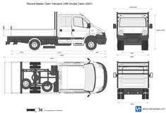 Renault Master Open Transport LWB Double Cabin