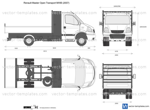 Renault Master Open Transport MWB