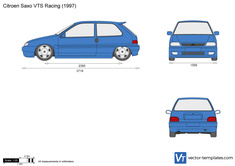 Citroen Saxo VTS Racing