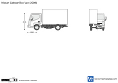 Nissan Cabstar Box Van