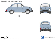 Morris Minor 1000 2-Door Million