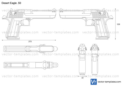Templates Weapons Pistols Desert Eagle 50