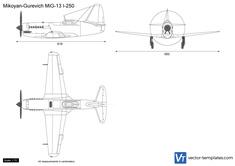 Mikoyan-Gurevich MiG-13 I-250 Samolet N