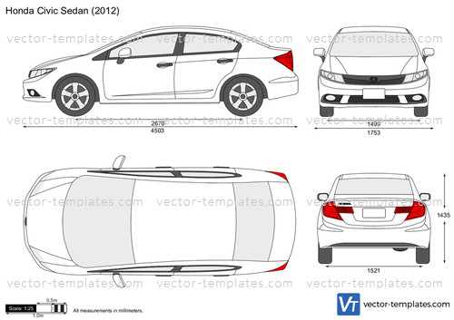 Templates Cars Honda Honda Civic Sedan