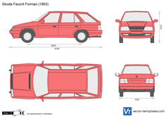 Skoda Favorit Forman