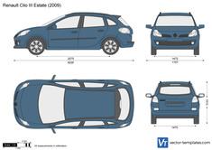 Renault Clio III Estate