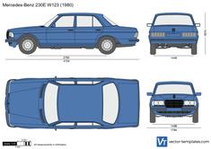 Mercedes-Benz 230E W123