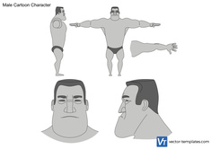 Male Cartoon Character