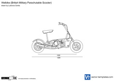 British Military Parachutable Scooter