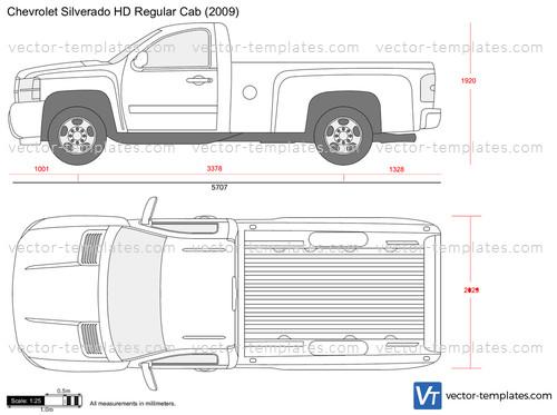Templates - Cars - Chevrolet - Chevrolet Silverado HD ...