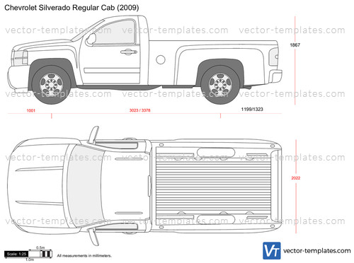 2012 Dodge Ram 1500 Headlights >> Templates - Cars - Chevrolet - Chevrolet Silverado Regular Cab