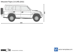 Mitsubishi Pajero 2.8 LWB