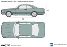 Mercedes-Benz S-Class Coupe W126