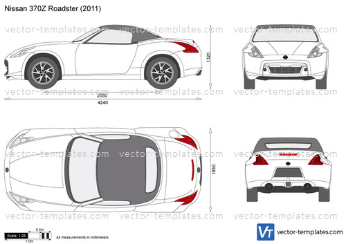 templates - cars - nissan
