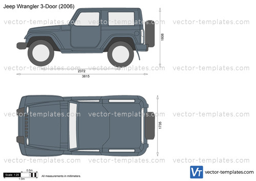 Templates Cars Jeep Jeep Wrangler 3 Door
