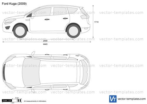 Templates Cars Ford Ford Kuga