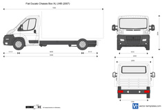 Fiat Ducato Chassis Box XL LWB