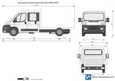 Fiat Ducato Chassis Double Cabin Box MWB
