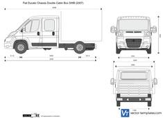 Fiat Ducato Chassis Double Cabin Box SWB