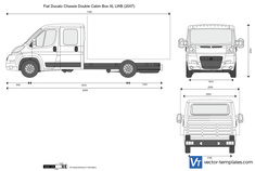 Fiat Ducato Chassis Double Cabin Box XL LWB