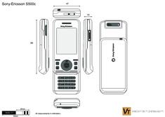 Sony-Ericsson S500c