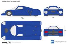Nissan R89C Le Mans