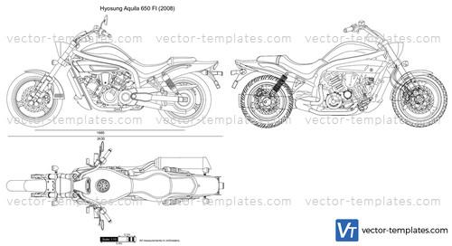 templates - motorcycles - hyosung