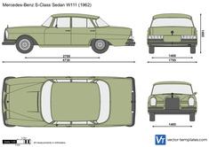 Mercedes-Benz S-Class Sedan W111
