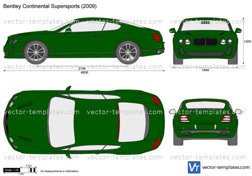Templates Cars Bentley Bentley Continental Gt Supersports
