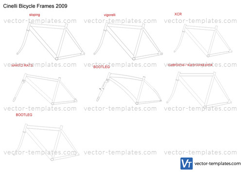 Cinelli Bicycle Frames 2009