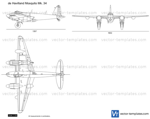de Havilland Mosquito Mk. 34