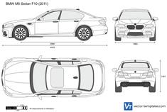 BMW M5 Sedan F10
