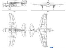 Curtiss SB2C-3 Helldiver