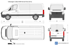Volkswagen Crafter MWB Normal Roof