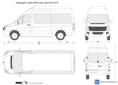 Volkswagen Crafter MWB Super High Roof