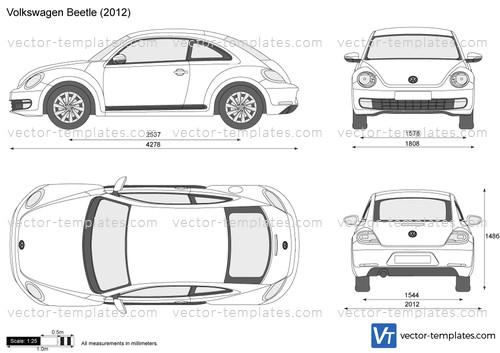 Templates - Cars - Volkswagen - Volkswagen Beetle