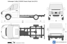 Volkswagen Crafter 30 MWB Chassis Single Cab