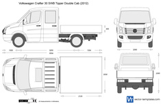 Volkswagen Crafter 30 SWB Tipper Double Cab