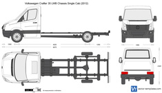 Volkswagen Crafter 35 LWB Chassis Single Cab